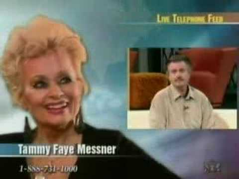 Tammy Faye TBN Interview 5/9/07 Part 1