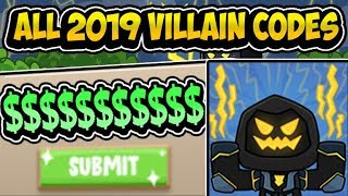 🔥'ALL *2019* VILLAIN UPDATE POWER SIMULATOR CODES!!'' 🔥 [VILLAIN] Power Simulator (Roblox)