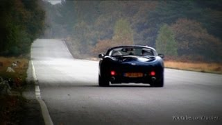 TVR Tuscan Decatted Exhaust Lovely Sounds!! - 1080p HD
