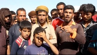 أخبار عربية - أخبار الآن تلتقي لاجئين من الموصل دخلوا الأراضي السورية