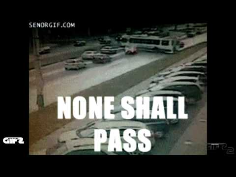 You Shall Not Pass Compilation 2014 | GIFs With Sound 2 | GWS4ALL