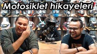 Buğra Akpınar ile Sinan Koç'un motosiklet hayatı.