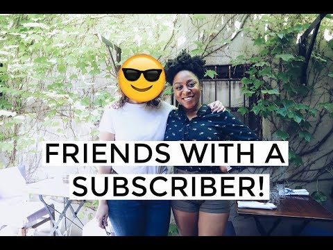NYC VLOG   Brunch with a subscriber & new camera!