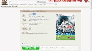 How To Download PES 2012 - RELOADED....