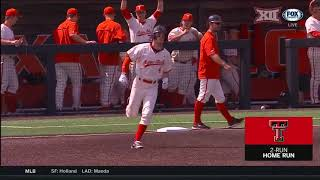 West Virginia vs Texas Tech Baseball Highlights - Mar. 31