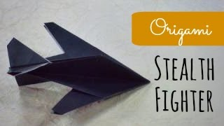 Origami Stealth Fighter Instructions (Robert J. Lang)