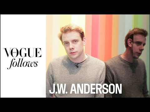 Jonathan Anderson takes us inside the J.W.ANDERSON Workshops #VogueFollows