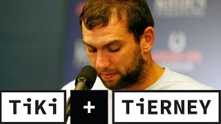 Andrew Luck's Retirement Is SHOCKING! | Tiki + Tierney