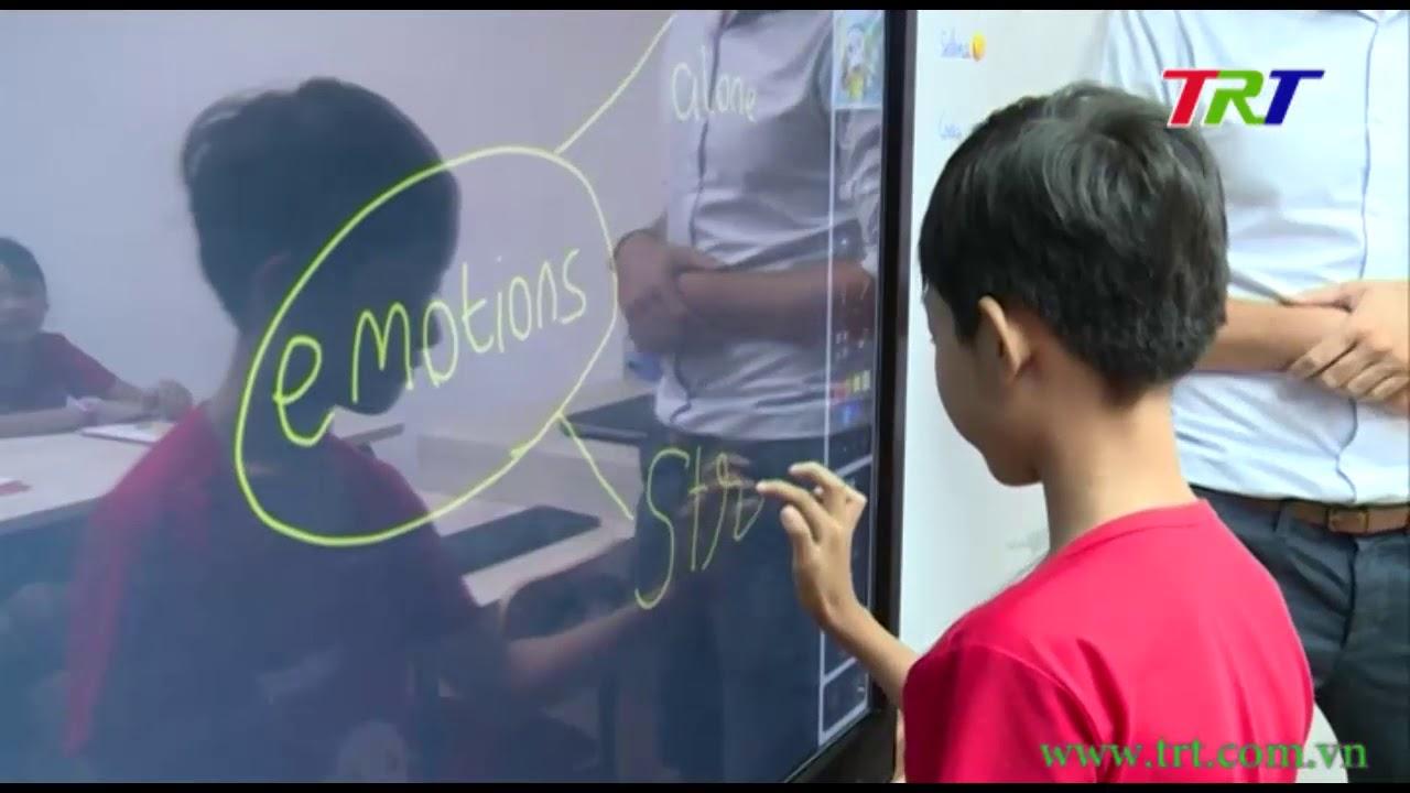 Ứng dụng công nghệ 4.0 vào giảng dạy tiếng Anh cho trẻ