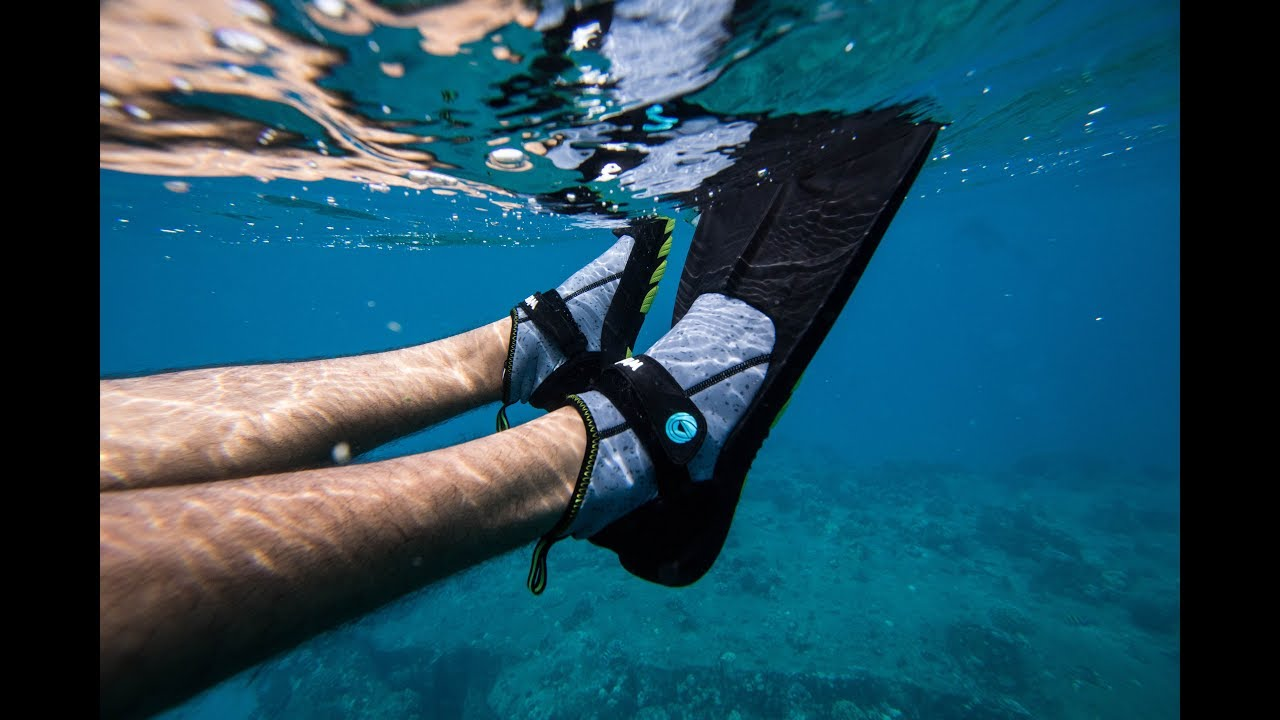 WildHorn Outfitters Topside Compact Travel Swim Snorkeling Flippers Womens 8
