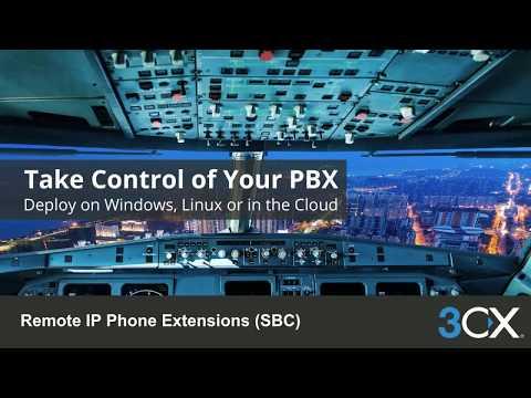 7. Remote IP Phone Extensions (SBC) (v15.5 SP3)