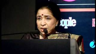 Asha Bhosle Got Ambassador For The Gima Award