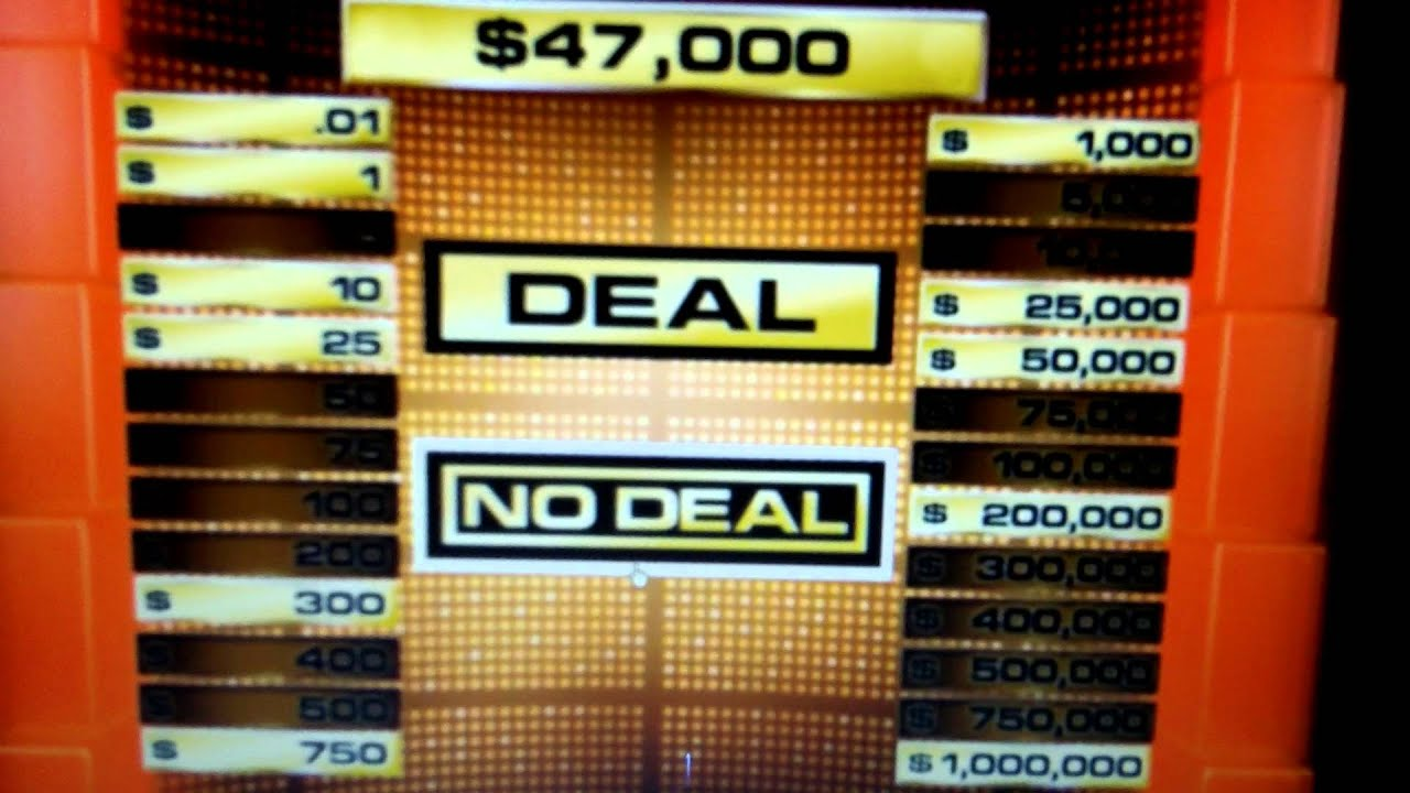 Deal or no deal dvd game 1 youtube