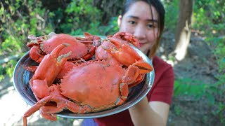 Yummy Mud Crab Cooking - Mud Crab Stir Fry Reipe - Cooking With Sros