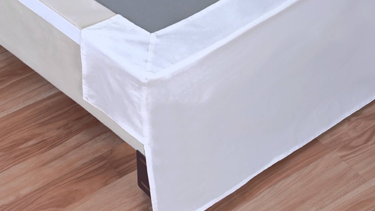 Popular Wonder Skirt Wrap Around Bed Skirt at Bed Bath & Beyond - YouTube PY71