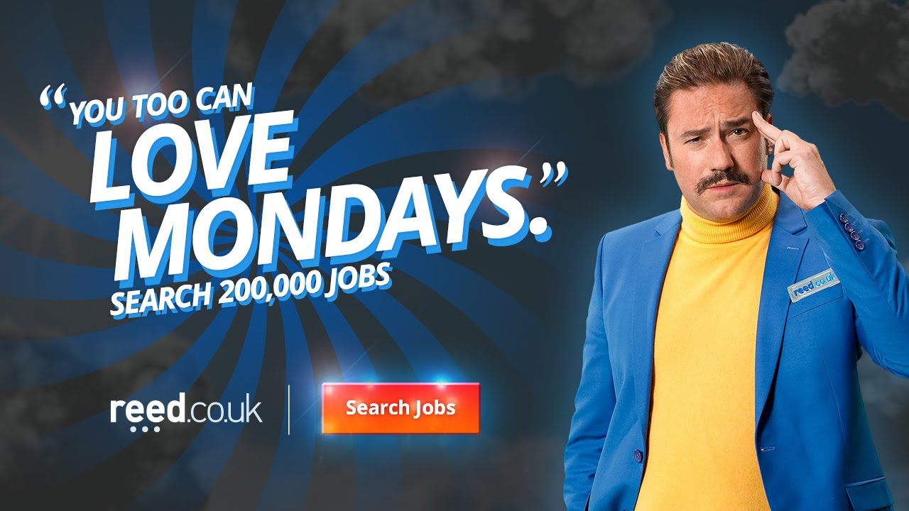 Reed Co Uk Official Love Mondays Campaign 2015 Clive Youtube