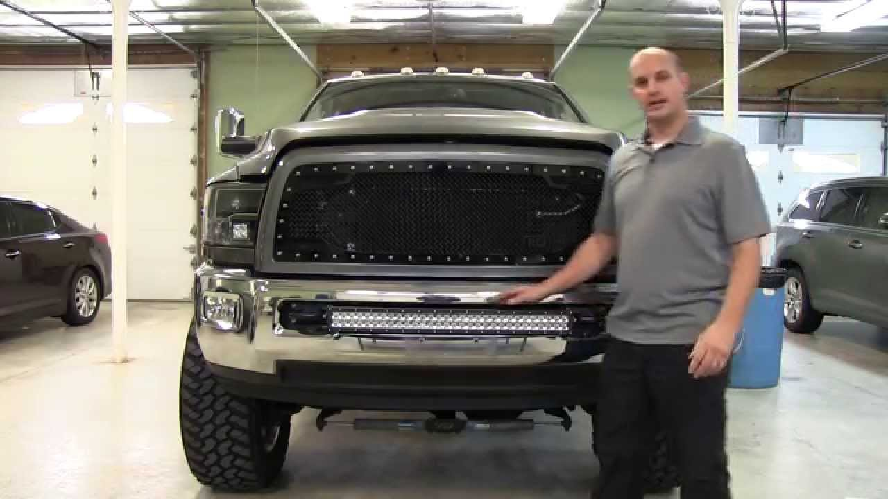 Installing a 30 bulldog light bar on a 2012 ram 3500 youtube aloadofball