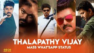 •Thalapathy Vijay 😎Mass Whatsapp Status😎   Full Screen