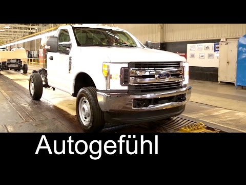Ford Super Duty chassis assembly plant Ohio - Autogefühl