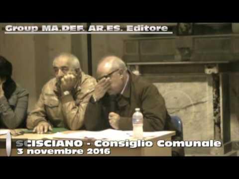 Scisciano Consiglio Comunale del 3 novembre 2016