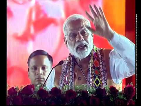 PM Modi at a Public Meeting in Bidar, Karnataka
