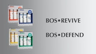Bosley Professional Strength Revive and Defend Systems