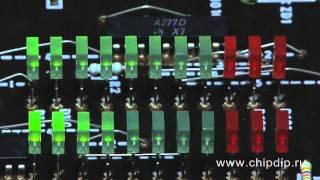 видео Автомобильный тахометр на К1003ПП1