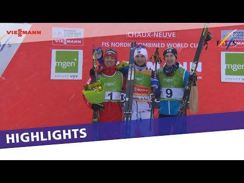 Jan Schmid just keeps on winning in Chaux-Neuve | Highlights