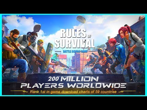 [生存法則] 無音チーター - RULES OF SURVIVAL [iPad Air2]