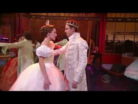 Cinderella on Letterman