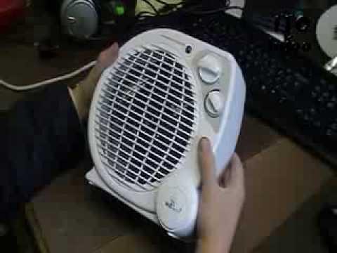 ремонт тепловентилятора.