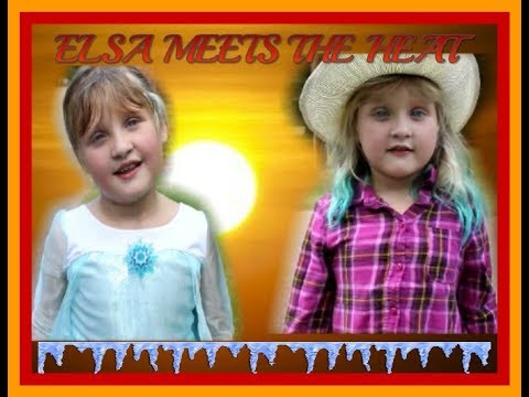 ELSA MEETS THE HEAT! | SKIT | rahrah.smyles