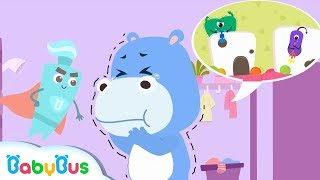 Cavity Germs Live In Hank's Mouth | Brushing Teeth Song | Kids Good Habits | BabyBus Cartoon