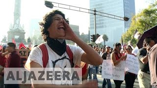 Mounting protests in Mexico over fuel price rise