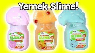 Yemek Slime Challenge | Pasta Slime Mı Çikolata Slime Mı? | Zep