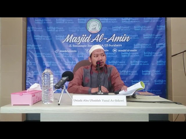Dirosah Ilmiah Sesi 1 Matan Arbain An Nawawi - Ustadz Abu Ubaidah Yusuf As Sidawi