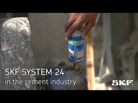 SKF SYSTEM 24 in the cement industry
