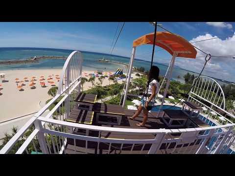 Mega Zip And Go Fall (Okinawa Japan)| Zip Line and Free Fall