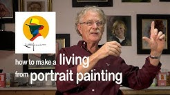 How to make a living from portrait painting. Some advice for beginners from Ben Lustenhouwer.