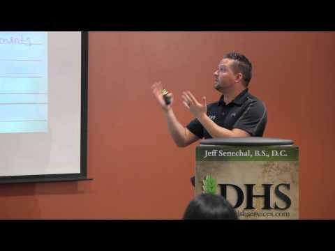 "Inside your Brain, "" An advanced lecture on brain health."" Dr. Jeff Senechal"