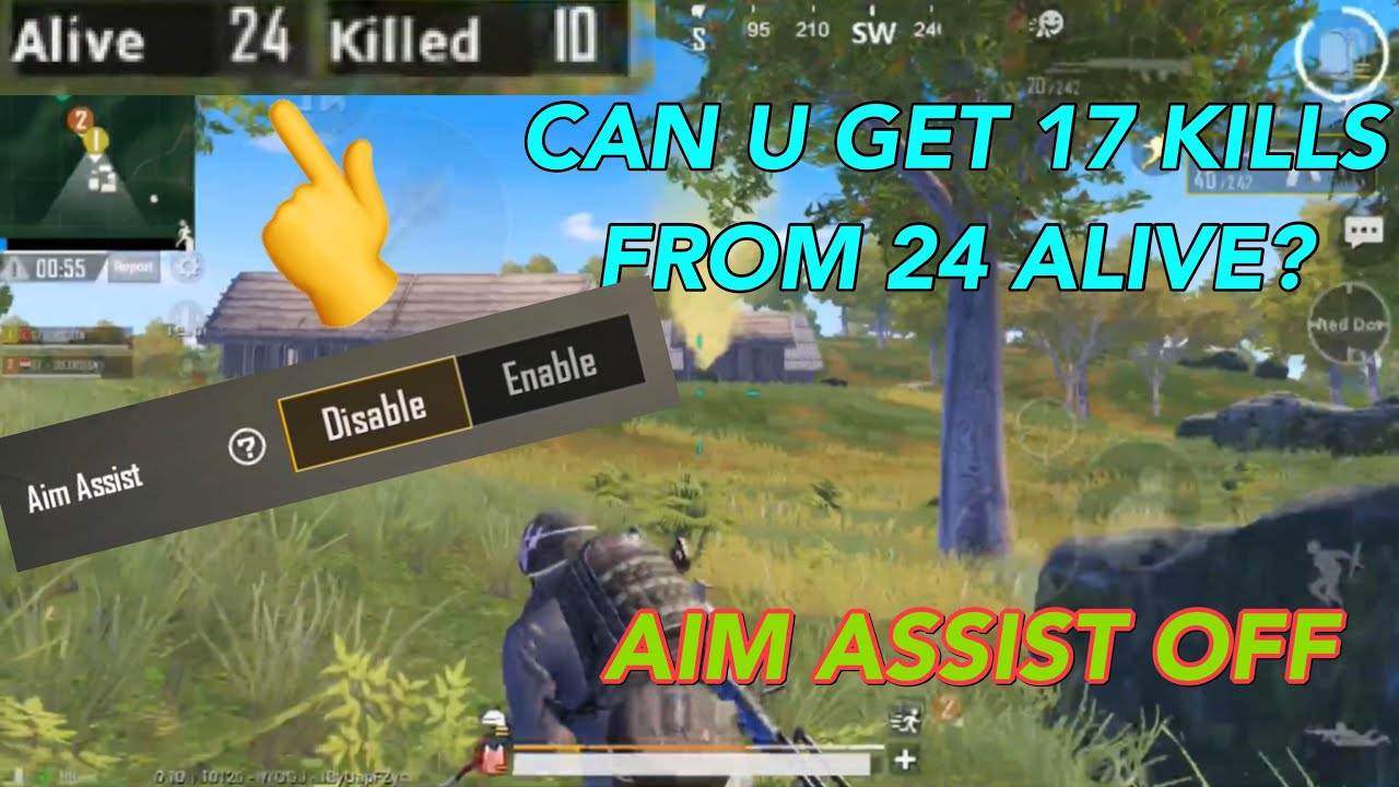 Epic 27 Kills Gameplay | Aim Assist Disabled | Pubg Mobile Wozto