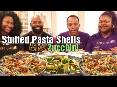 Stuffed Pasta Shells, Zucchini, & Marriage Talk