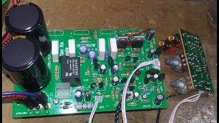 Hướng dẫn nâng cấp mạch sub 4 sò chợ lên đánh bass 40 coil 65 chạy điện 40V đối xứng