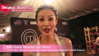 Bual Santai Bersama Soo Wincci Masterchef Selebriti Malaysia