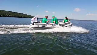 Моторная лодка под рулевое управление Vulkan TMK400U