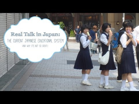 Real Talk in Japan: Flaws of Japan's Education System
