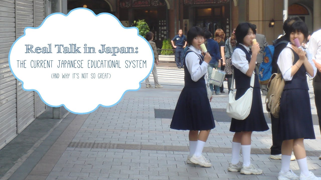 real talk in japan flaws of japans education system youtube