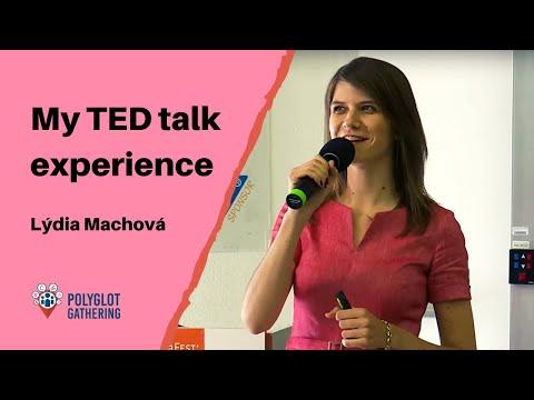 My TED talk experience - Lýdia Machová | PG 2019