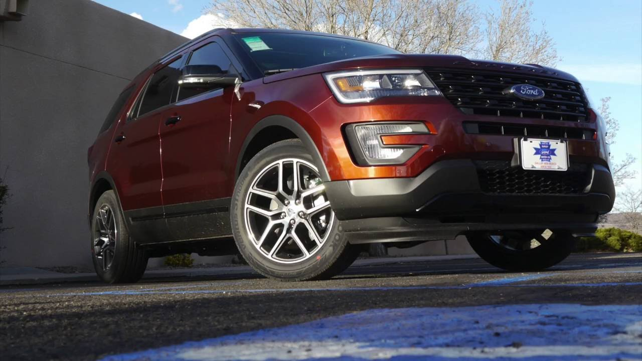 2016 ford explorer sport ecoboost real world review and test drive youtube. Black Bedroom Furniture Sets. Home Design Ideas