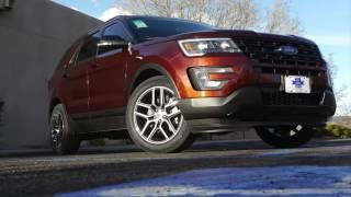 2016 Ford Explorer Sport EcoBoost:  Real World Review and Test Drive